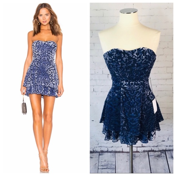 MAJORELLE Dresses & Skirts - MAJORELLE Martha Mini Dress in Midnight Blue
